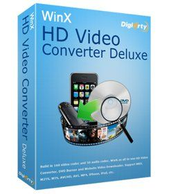 WinX HD Video Converter Deluxe v5.0.1.179 Build 09.12.2013