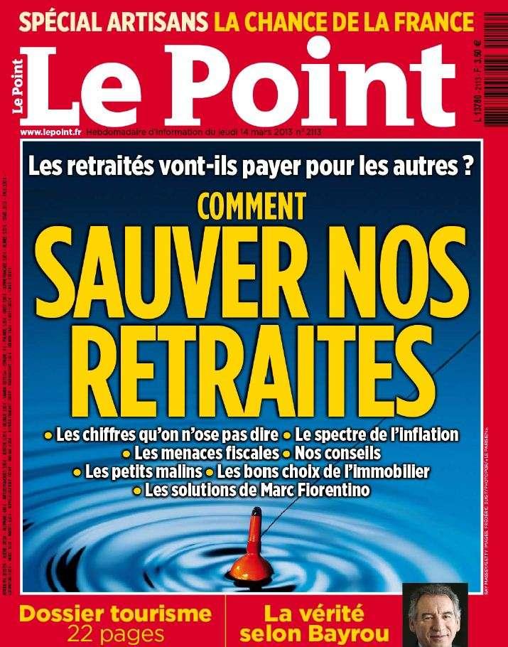 Le Point N°2113 du 14 au 20 Mars 2013