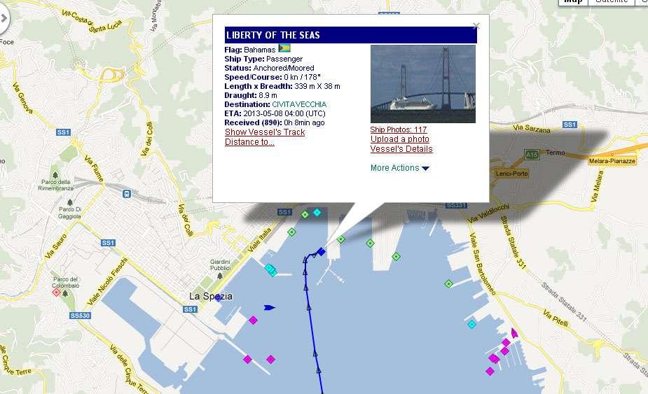 Dock Or Tender In La Spezia Cruise Critic Message Board