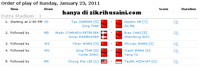 kejohanan badminton proton malaysia terbuka 2011, terbuka proton malaysia 2011, juara proton malaysia 2011, proton malaysia open 2011, jadual perlawanan proton malaysia open 2011, jadual perlawanan akhir terbuka series badminton 2011 malaysia,