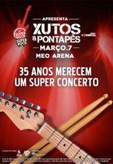 Xutos Pontapés Meo Arena 2014