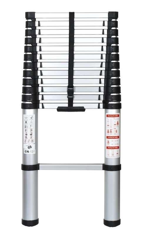 echelle telescopique securite aluminium 3 90m neuf pro. Black Bedroom Furniture Sets. Home Design Ideas